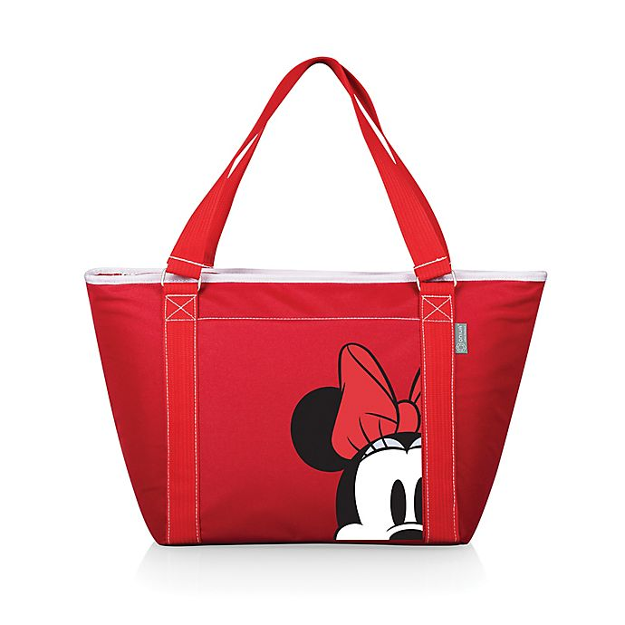 Alternate image 1 for Picnic Time® Disney® Minnie Mouse Topanga Cooler Tote in Red