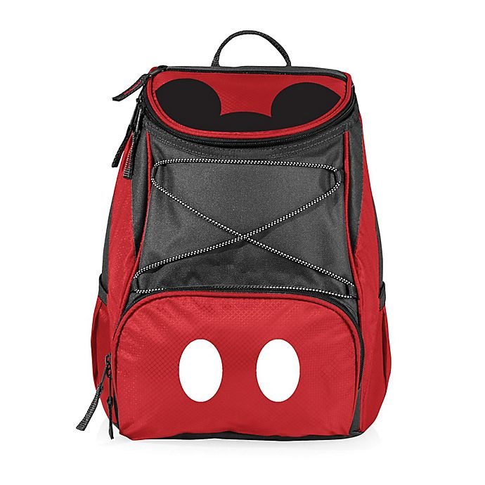 b5466a38f76 Picnic Time® Disney® Mickey Mouse PTX Cooler Backpack in Red