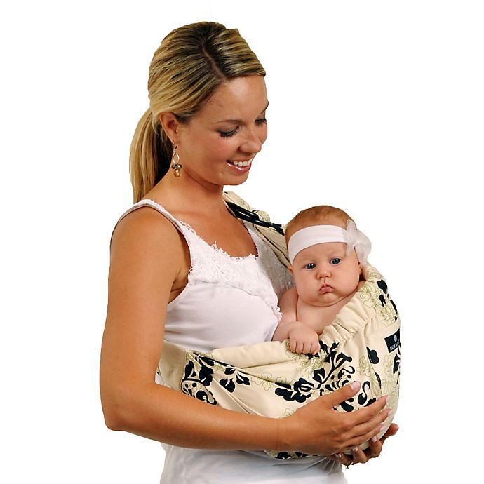 fd21227818c Balboa Baby® Dr. Sears Original Adjustable Baby Sling in Green Lola ...