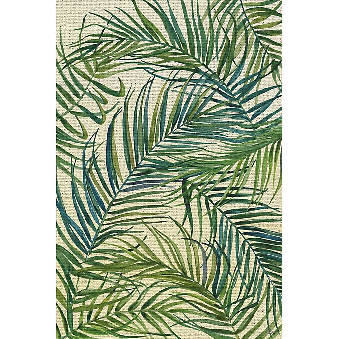 Alternate image 1 for Marmont Hill Palm Leaves on Sunday 36-Inch x 24-Inch Canvas Wall Art