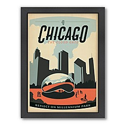 Americanflat Chicago Millenim Park Wall Art