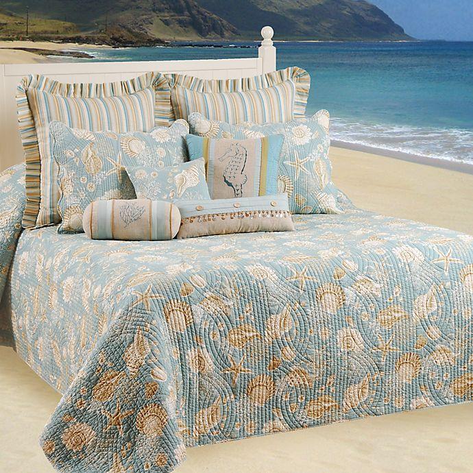 Alternate image 1 for Natural Shells Bedspread, 100% Cotton