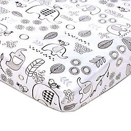 Lolli Living™ Kayden Elle Elephant Fitted Crib Sheet