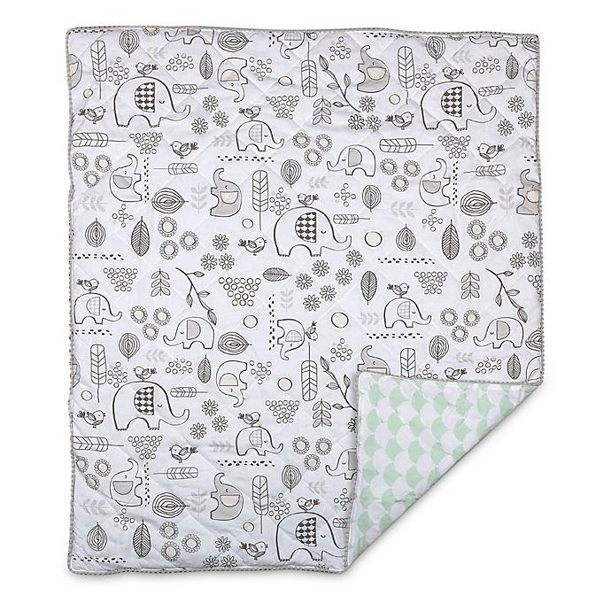 Alternate image 1 for Lolli Living™ Kayden Elle Elephant Reversible Quilt
