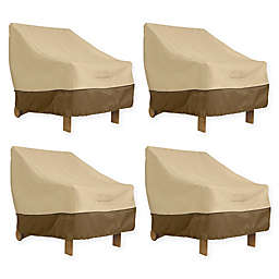 Classic Accessories® Veranda Deep Seated Patio Lounge Chair Covers in Pebble
