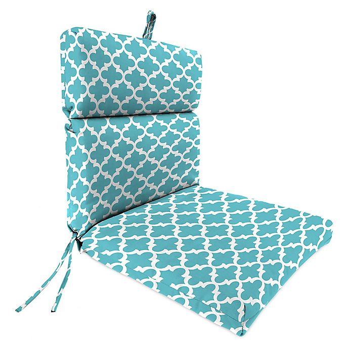 Jordan Manufacturing Fulton Outdoor 44 Dining Chair Cushion In