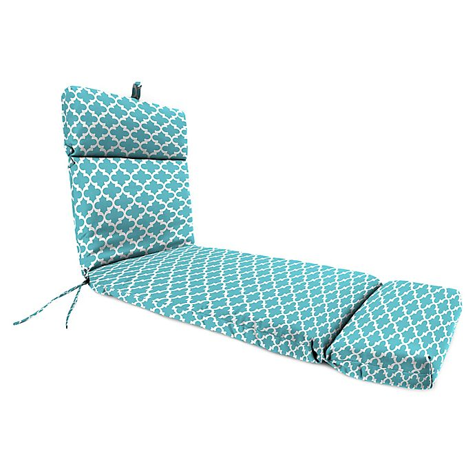 Alternate image 1 for Print 72-Inch Chaise Lounge Cushion