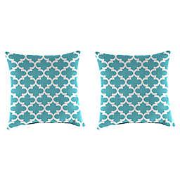 Jordan Manufacturing Print 18-Inch Square Throw Pillows (Set of 2)
