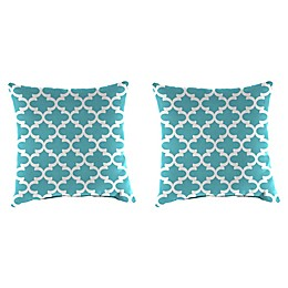 Jordan Manufacturing Print 16-Inch Square Throw Pillows (Set of 2)