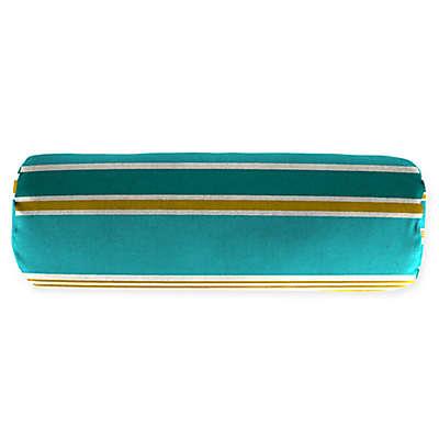 Stripe Outdoor 20-Inch Lumbar Throw Pillow