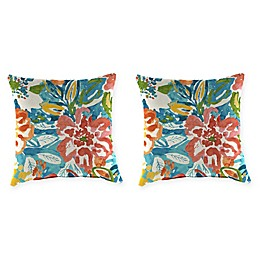 Jordan Manufacturing Print 18-Inch Square Throw Pillows (Set of 2)