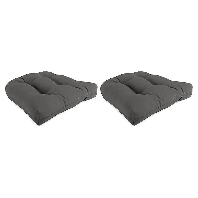 Bed Bath And Beyond Beaumont: Jordan Manufacturing Sunbrella® Loft 18-Inch Square Wicker