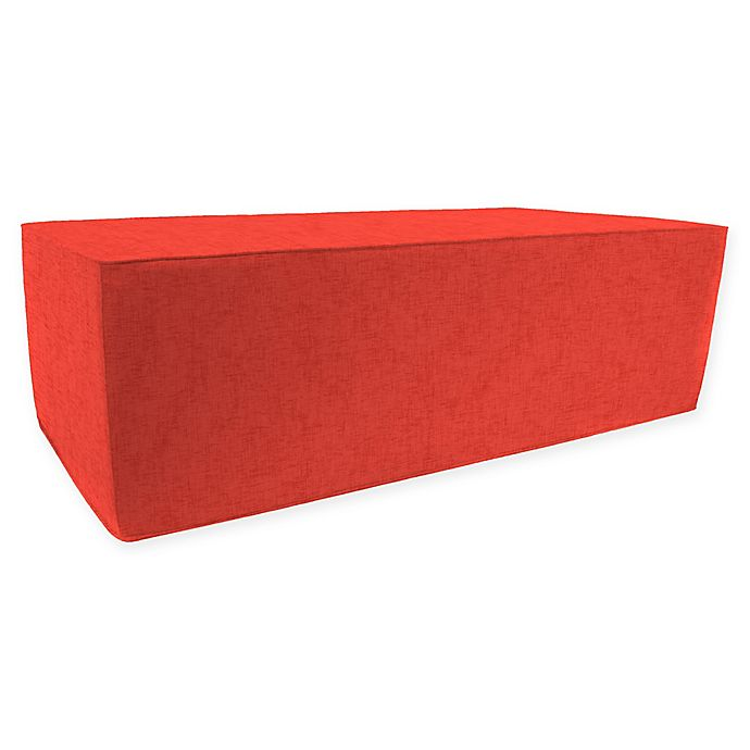 Alternate image 1 for Jordan Manufacturing Double Pouf in Jackson Indian Coral