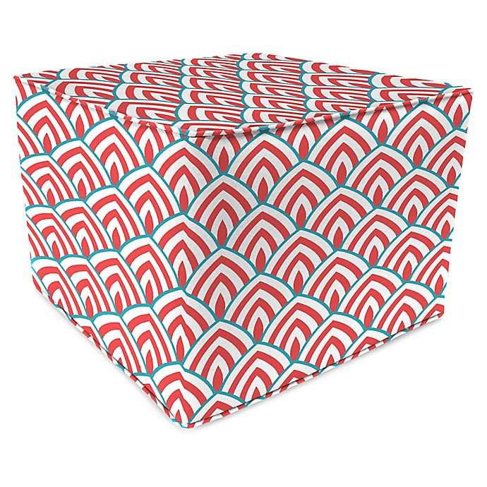 Alternate image 1 for Lalo Calypso Square Outdoor Pouf
