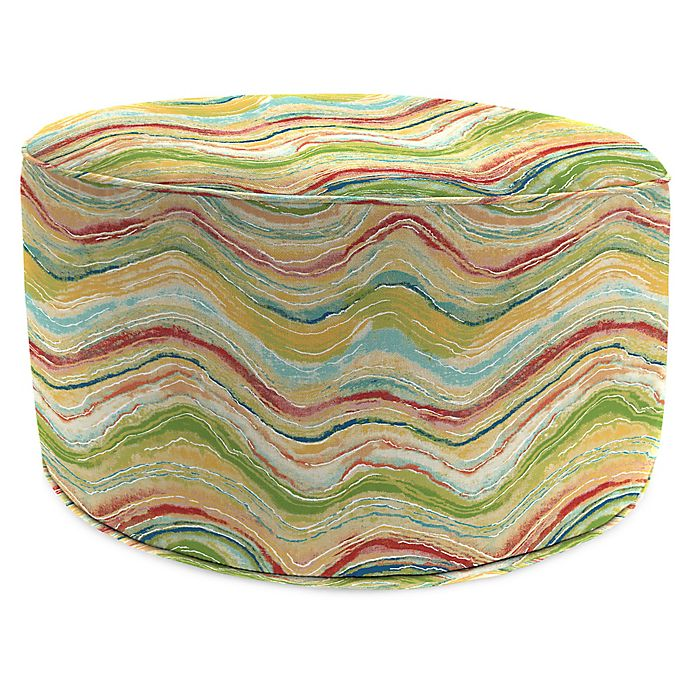 Astounding Jordan Manufacturing Faremore 24 Inch Round Pouf Ottoman In Squirreltailoven Fun Painted Chair Ideas Images Squirreltailovenorg