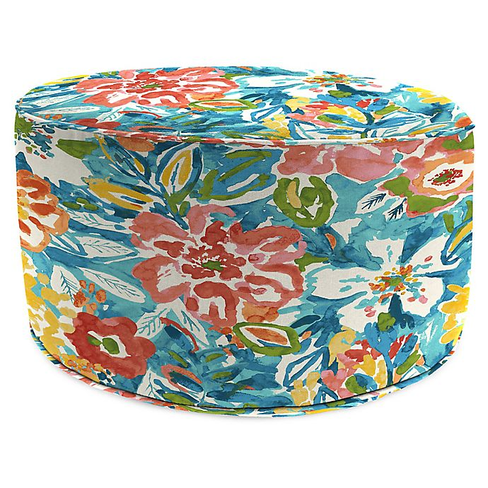 Miraculous Jordan Manufacturing Sunriver 24 Inch Round Pouf Ottoman In Squirreltailoven Fun Painted Chair Ideas Images Squirreltailovenorg