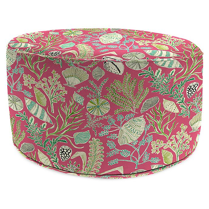 Prime Jordan Manufacturing Sundream 24 Inch Round Pouf Ottoman In Squirreltailoven Fun Painted Chair Ideas Images Squirreltailovenorg