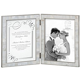 Prinz 2-Opening 5-Inch x 7-Inch Mother of Pearl Frame