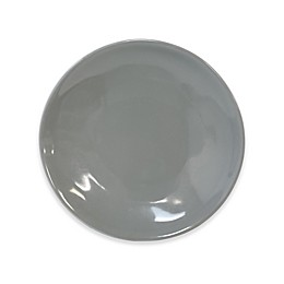 Artisanal Kitchen Supply® Curve Appetizer Plates in Grey (Set of 4)