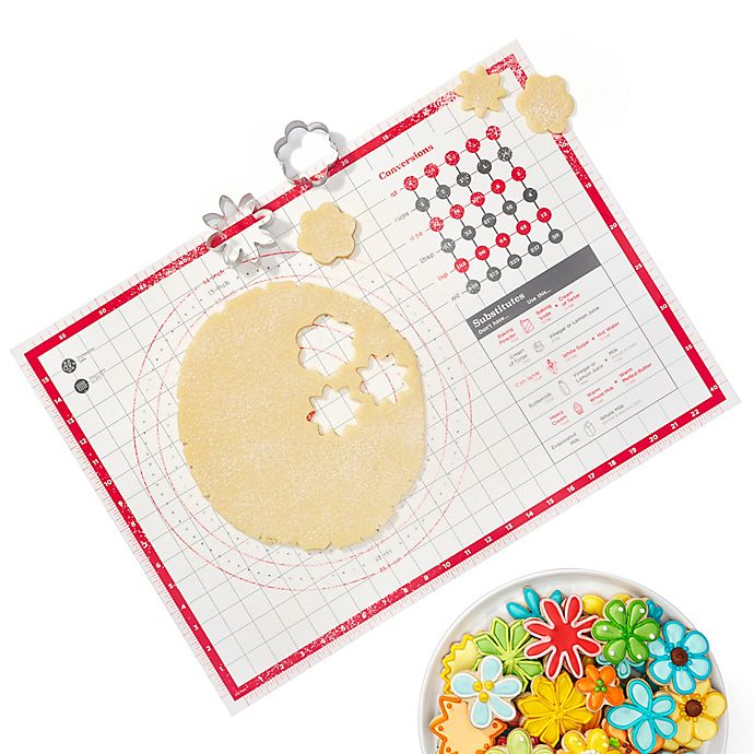 Alternate image 1 for OXO Good Grips® Pastry Mat in White/Red