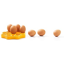 OXO Silicone Pressure Cooker Egg Rack in Yellow
