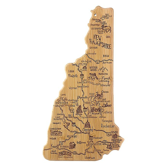 Alternate image 1 for Totally Bamboo Destination Bamboo New Hampshire Cutting Board