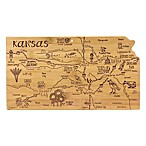 Totally Bamboo Destination Bamboo Kansas Cutting Board