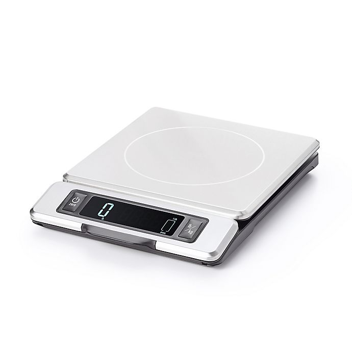 Alternate image 1 for OXO Good Grips® Stainless Steel Scale with Pull-Out Digital Display