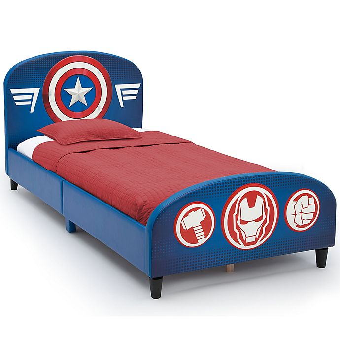 Alternate image 1 for The Avengers Upholstered Twin Bed