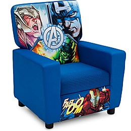 The Avengers Upholstered High Back Chair