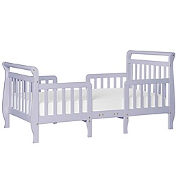 Dream On Me Emma 3-in-1 Convertible Toddler Bed in Lavender