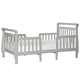 Dream On Me Emma 3-in-1 Convertible Toddler Bed in Grey