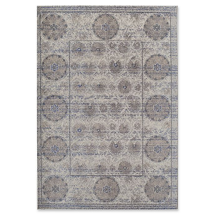 Alternate image 1 for Rugs America Beverly Vintage-Inspired 2' x 3' Accent Rug in Grey/Ivory