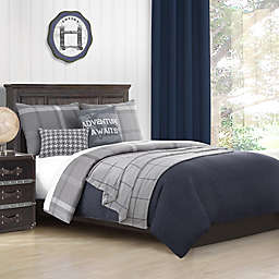 Baxton Studio Hunter Map Comforter Set