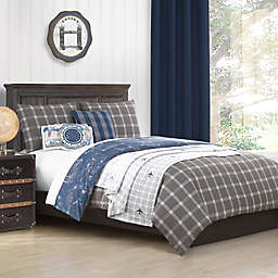 Baxton Studio Little Traveler Reversible Comforter Set