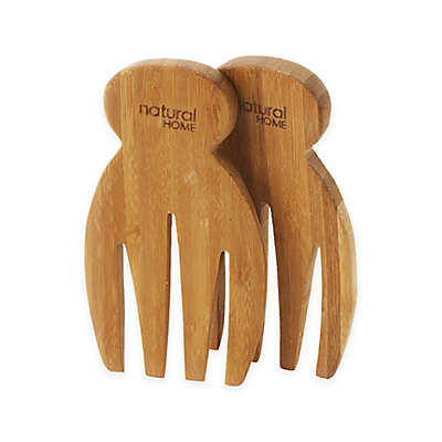 Natural Home™ Bamboo Salad Hands