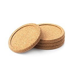 Natural Home™ Cork Coasters (Set of 4)