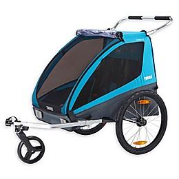 Thule® Kids Coaster XT Bike Trailer in Blue