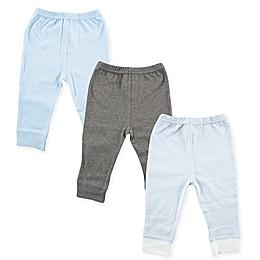 Luvable Friends® 3-Pack Pants in Light Blue