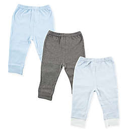 Luvable Friends® 3-Pack Pants in Light Blue