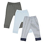 Luvable Friends® Size 3-6M 3-Pack Pants in Navy