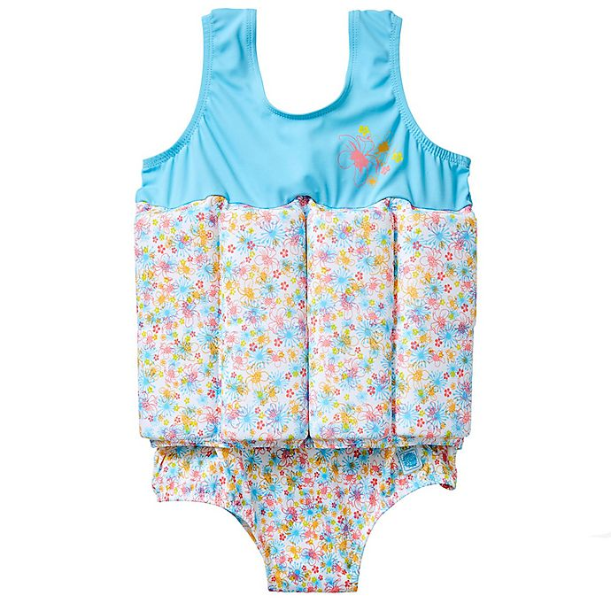 Alternate image 1 for Splash About Girls' Float Suit in Flora Bimbi