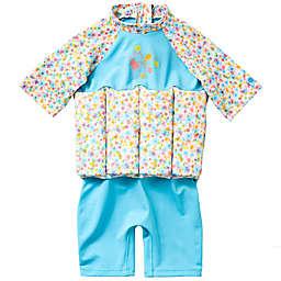 Splash About Girls' UV Float Suit in Garden Birds