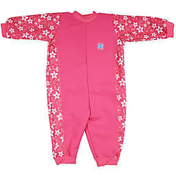 Splash About Warm-In-One Long Sleeve Wetsuit in Pink Blossom