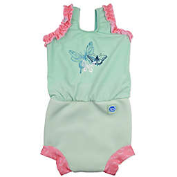 Splash About Happy Nappy™ Dragonfly Swimsuit in Green