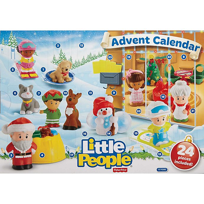 Alternate image 1 for Fisher-Price® Little People Advent Calendar