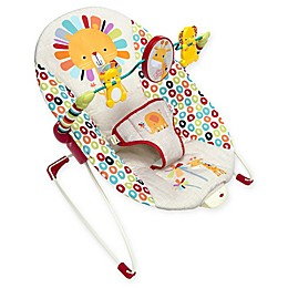Bright Starts™ Playful Pinwheels™ Vibrating Bouncer in Yellow