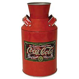 Coca-Cola® Replica Milk Can Storage Tin in Red