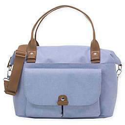 BabyMel™ Jade Over-the-Shoulder Diaper Bag in Blue