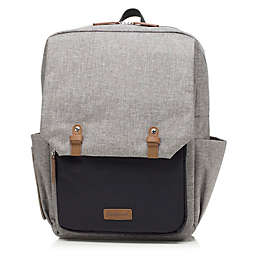BabyMel™ George Backpack Diaper Bag in Grey/Black